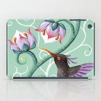 hummingbird iPad Cases featuring Hummingbird by Freeminds