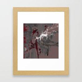 LOTUS - CRANE Framed Art Print