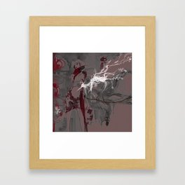 LOTUS - CRANE Framed Art Print