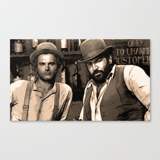 true heroes Canvas Print