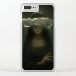 Starry Clear iPhone Case