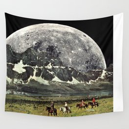Mountains of Montanya Wall Tapestry