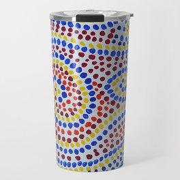 Swirling Dots 1 Travel Mug