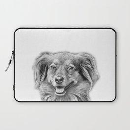 Happy dog face Laptop Sleeve