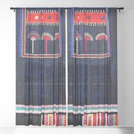 Akha Tunic Sheer Curtain