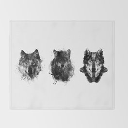 The Wolfpack Throw Blanket