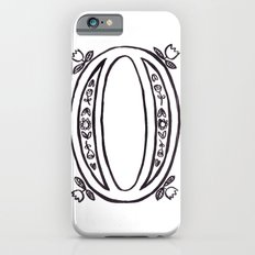O is for iPhone 6s Slim Case