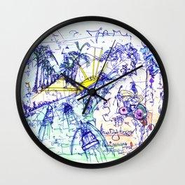 Miami Concussion Wall Clock