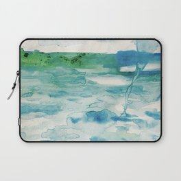 Miami Beach Watercolor #2 Laptop Sleeve