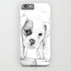 Patch, A Boxer Puppy :: Shelter Dog Project Slim Case iPhone 6