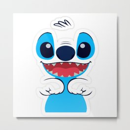 Lilo & Stitch Metal Print