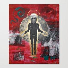 Saint LeRoy of the Sacred Faceless Avatar Canvas Print