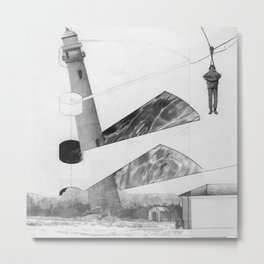 carried from the wreckage Metal Print