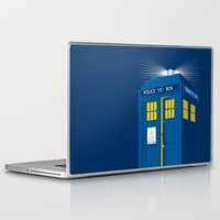 tardis Laptop & iPad Skins featuring TARDIS by Digital Arts & Crafts by eXistenZ