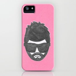 moody git iPhone Case