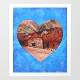 Cedar Mesa Ruin Art Print
