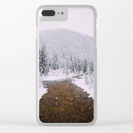 Thompson Pass Clear iPhone Case