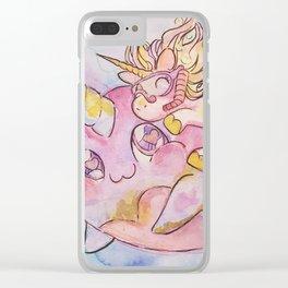 Swim Buddies Clear iPhone Case