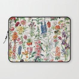 Adolphe Millot - Fleurs pour tous - French vintage poster Laptop Sleeve