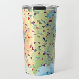USA America Geometric Abstract Travel Mug