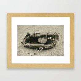 First Love 3 in Sepia Framed Art Print