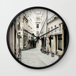 Le Marais Wall Clock