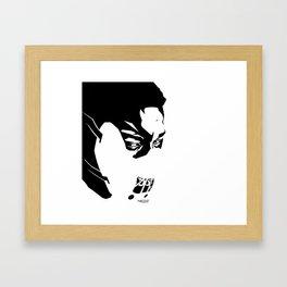 Jay Rock Framed Art Print