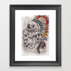 The Savage Framed Art Print
