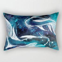 Celestial Fish Rectangular Pillow