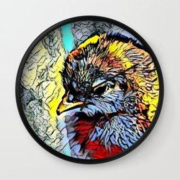 Color Kick - Chick Wall Clock