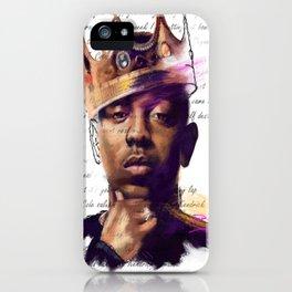 KingKendrick iPhone Case