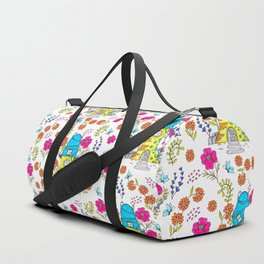 Whimsical House Garden Duffle Bag