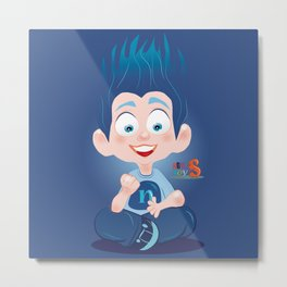 Nuly/Character & Art Toy design for fun Metal Print