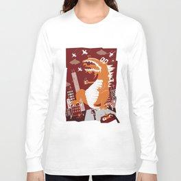 Dinosaur Smash Long Sleeve T-shirt