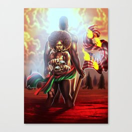 Welcome to the [Untelevised] Revolution Canvas Print