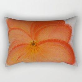 pansy flower Rectangular Pillow