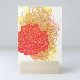 Carnation Ropes Mini Art Print