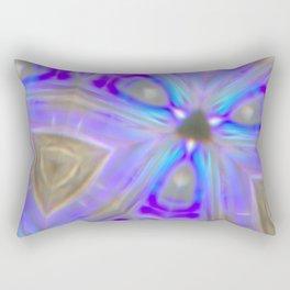 Ultra Violet Sacred Geometry Rectangular Pillow