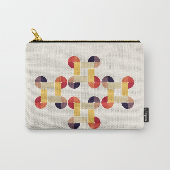 'round and 'round  Carry-All Pouch