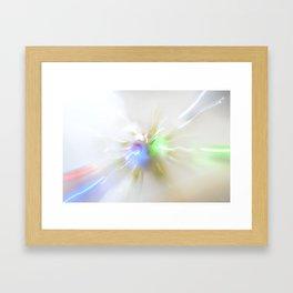 Light show IV (original) Framed Art Print