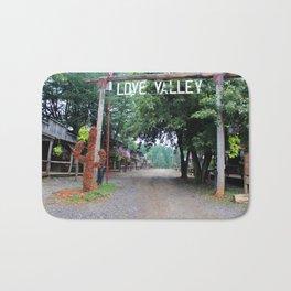 Town Of Love Valley Bath Mat