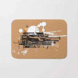 """Four Tet"" Graphic Art Print Bath Mat"