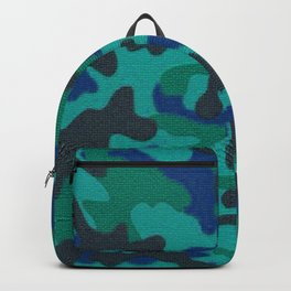 Mosaic Camo in Teal Backpack