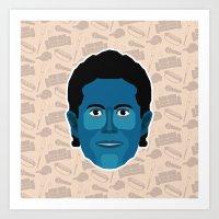 seinfeld Art Prints featuring Jerry Seinfeld - Seinfeld by Kuki