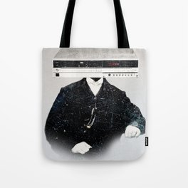 Faces of the Past: VCR Tote Bag