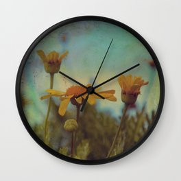 The beauty of simple things Wall Clock