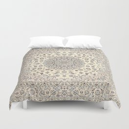 Bohemian Farmhouse Traditional Moroccan Art Style Texture Duvet Cover