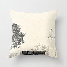 Tom's Favourite Spot —Angels Knoll Park, LA —(500) Days of Summer Throw Pillow