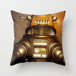"""""""Lost In Retro"""" Throw Pillow"""