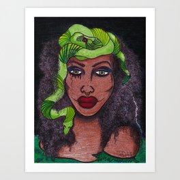 Bayou Queen Art Print
